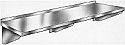 Blickman Stainless Steel Wall Shelves with 3 Brackets